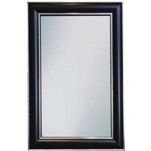 Chrome Wall Mirror erias spectrum black & chrome wall mirror - inc266312 - veteran